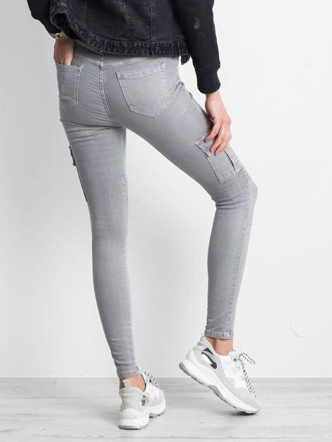 Szare spodnie Hello                              zdj.                              3