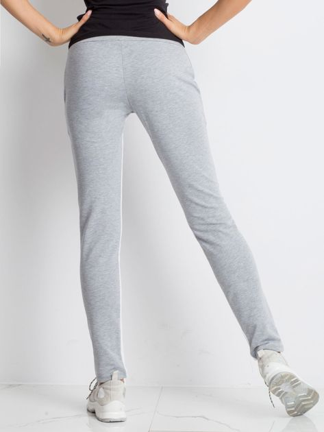 Szare spodnie dresowe Defined                              zdj.                              2