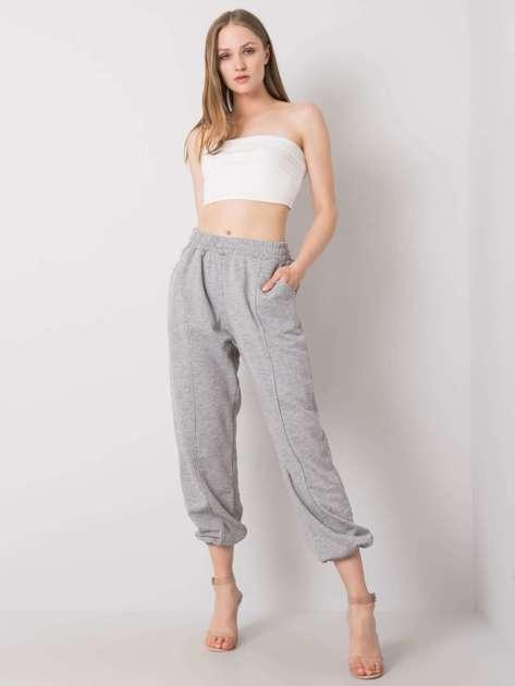Szare spodnie dresowe Maye
