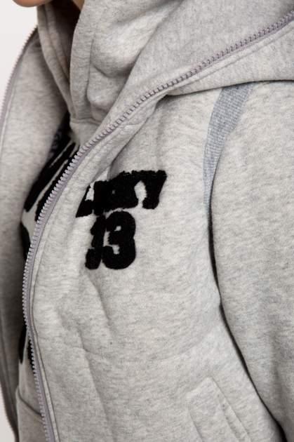 Szary dresowy komplet w stylu college                                  zdj.                                  12