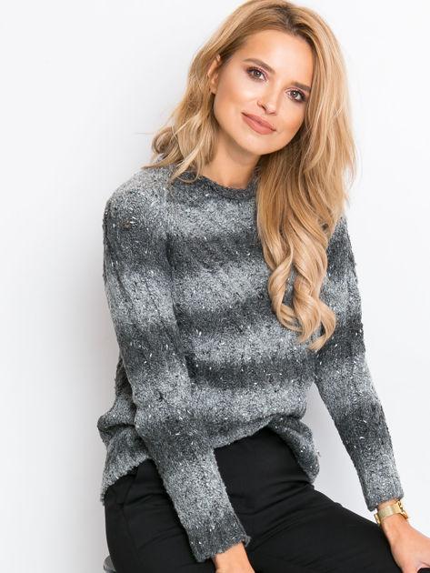 Szary sweter Rave