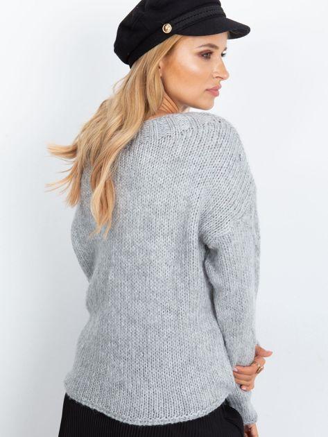 Szary sweter Tiffany                              zdj.                              2