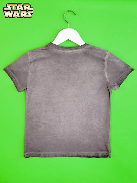 Szary t-shirt chłopięcy STAR WARS                                  zdj.                                  2