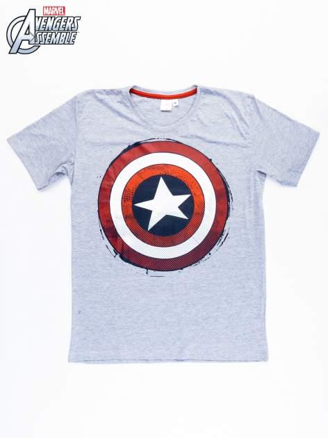 Szary t-shirt męski AVENGERS                                  zdj.                                  9