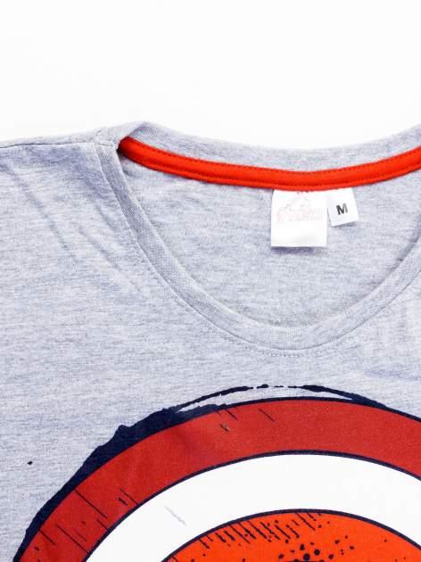 Szary t-shirt męski AVENGERS                                  zdj.                                  11