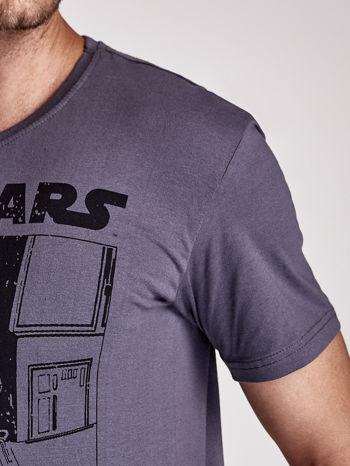 Szary t-shirt męski STAR WARS                                  zdj.                                  7