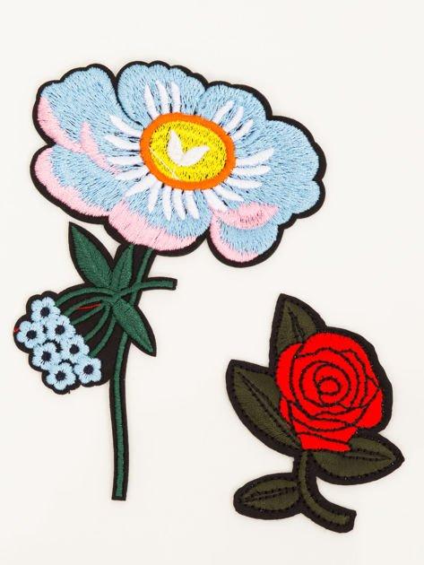 T-shirt damski różowy z naszywkami                              zdj.                              2