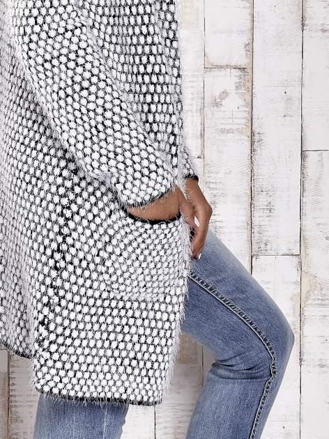 TOM TAILOR Biały wełniany puszysty sweter                                  zdj.                                  6
