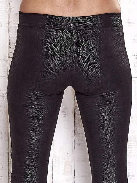 TOM TAILOR Czarne skórzane legginsy                                  zdj.                                  6