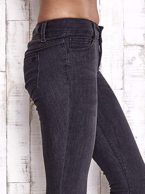 TOM TAILOR Czarne spodnie jeansowe ze stretchem                                  zdj.                                  5