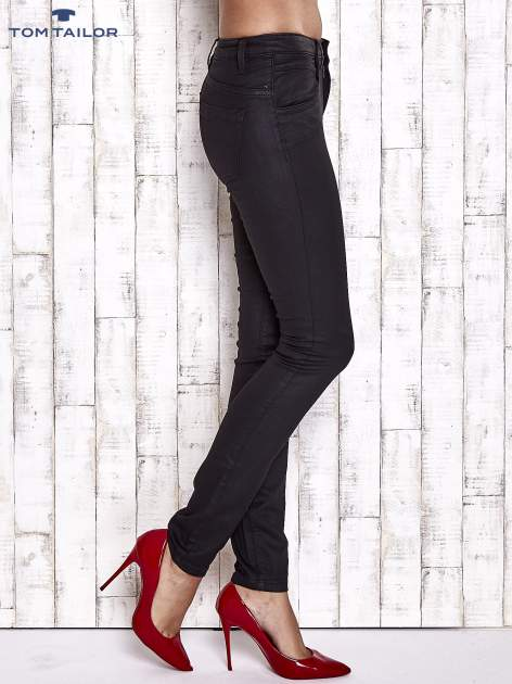 TOM TAILOR Czarne spodnie skinny jeans                                   zdj.                                  3