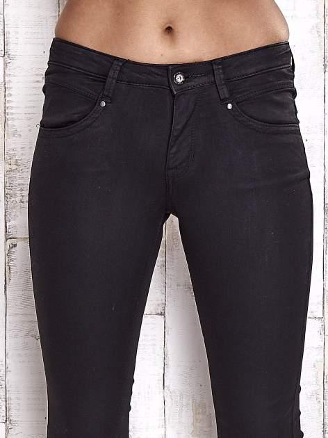 TOM TAILOR Czarne spodnie skinny jeans                                   zdj.                                  4
