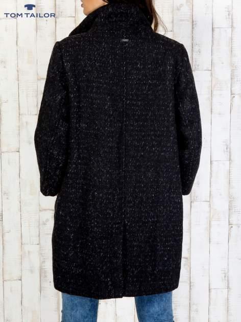 TOM TAILOR Czarny dwuczęściowy płaszcz z kurtką pikowaną                                  zdj.                                  19