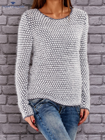 TOM TAILOR Niebieski sweter long hair                                  zdj.                                  2