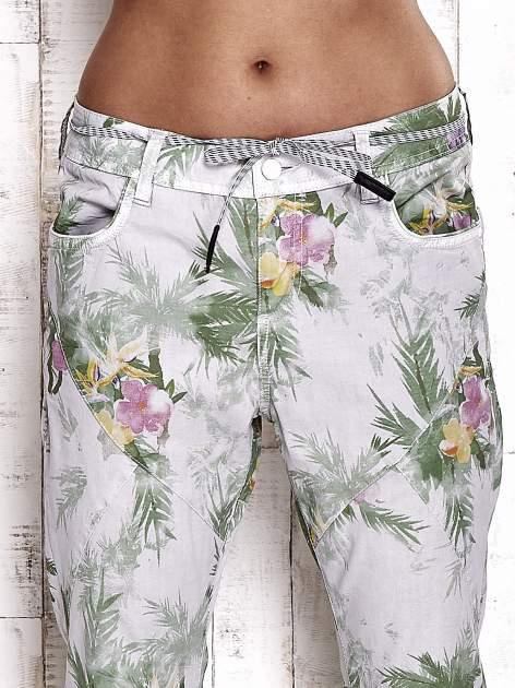 TOM TAILOR Spodnie damskie floral print                                  zdj.                                  4