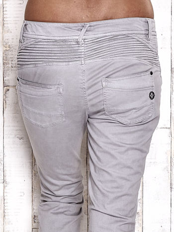 TOM TAILOR Szare materiałowe spodnie                                  zdj.                                  6