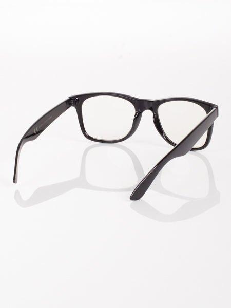 WAYFARER NERD modne okulary zerówki ,doskonały akcent twojego wizerunku !                                  zdj.                                  3
