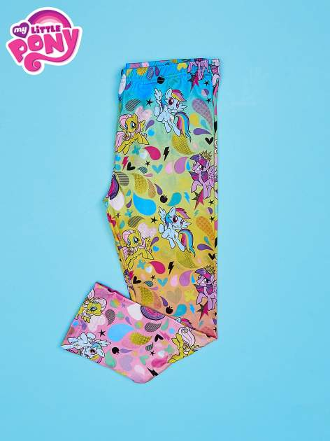 Wielokolorowe legginsy dla dziewczynki MY LITTLE PONY                              zdj.                              2