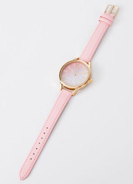 GLITTER OMBRE jasno różowy zegarek damski                                  zdj.                                  3