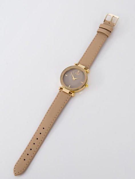 Zegarek damski beżowy                              zdj.                              3