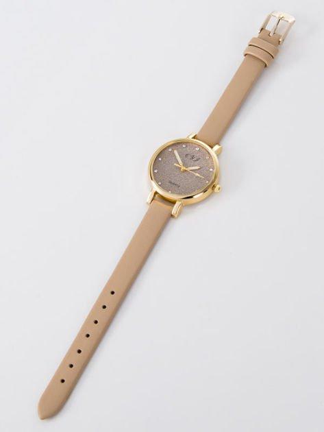 Zegarek damski glitter capuccino                              zdj.                              3