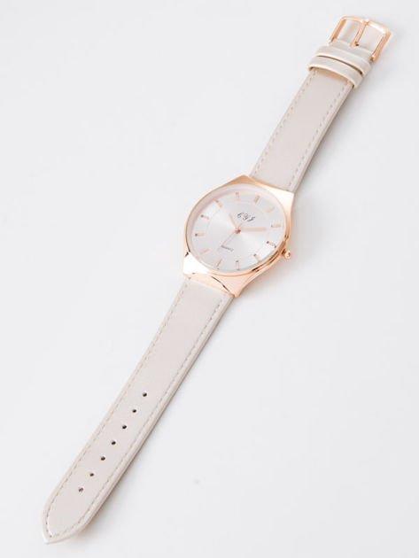 Zegarek damski perłowo-złoty                              zdj.                              3