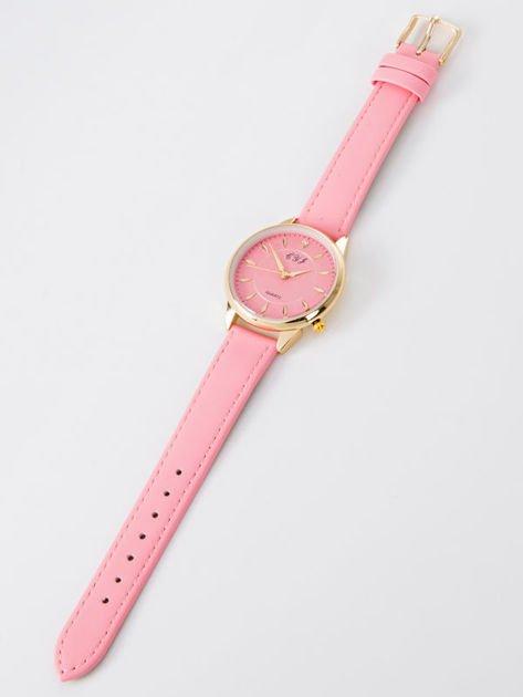 Zegarek damski różowy                              zdj.                              3