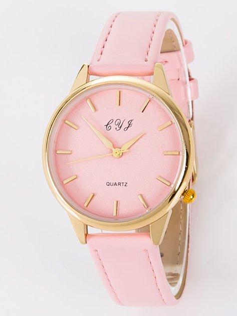 Zegarek damski różowy                                  zdj.                                  4