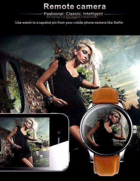Zegarek smartwatch K88H brązowy Pulsometr Wodoodporny Siri                                  zdj.                                  13