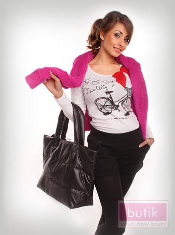 Zestaw: bluza + bluzka  + legginsy