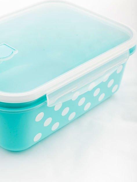 Zestaw jasnoniebieskie pojemniki do żywności 5 elementów                              zdj.                              8