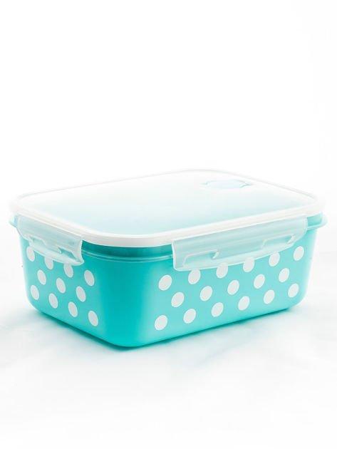 Zestaw jasnoniebieskie pojemniki do żywności 5 elementów                              zdj.                              10