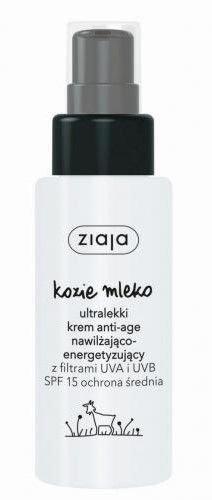 Ziaja Kozie Mleko ULTRALEKKI KREM SPF 15/ 50ml                              zdj.                              1