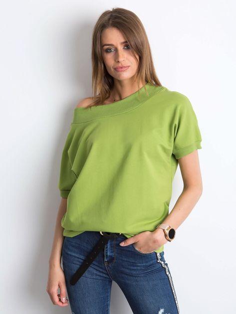 Jasnozielona bluzka Lemontree                              zdj.                              1