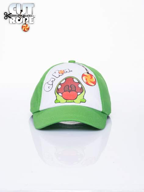 Zielona chłopięca czapka z daszkiem CUT THE ROPE                                  zdj.                                  1