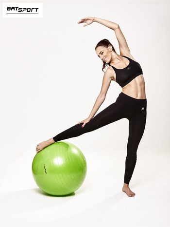 Zielona duża piłka fitness                                  zdj.                                  7