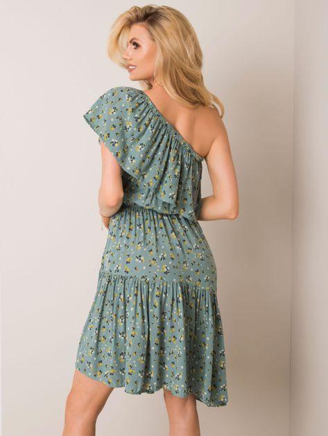Zielona sukienka Errin