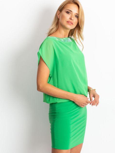 Zielona sukienka Light                              zdj.                              3