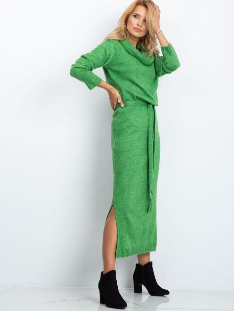 Zielona sukienka Peace                              zdj.                              3