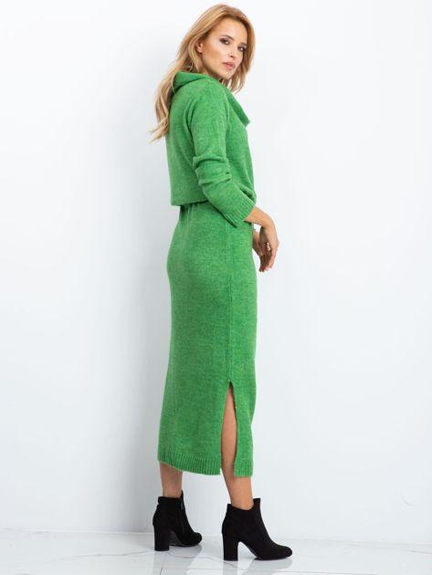 Zielona sukienka Peace                              zdj.                              2