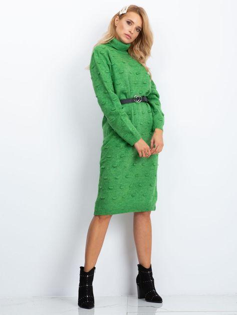 Zielona sukienka Silky                              zdj.                              4