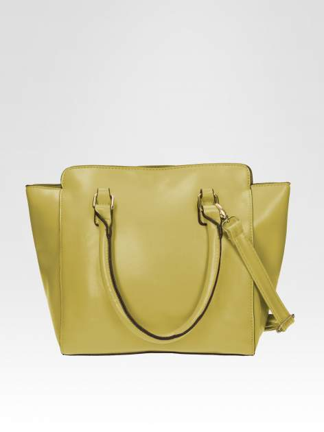 Zielona torebka na ramię z dżetami                                  zdj.                                  3