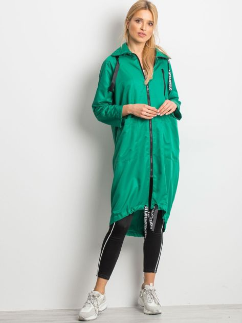 Zielony płaszcz Flatscreen                              zdj.                              4