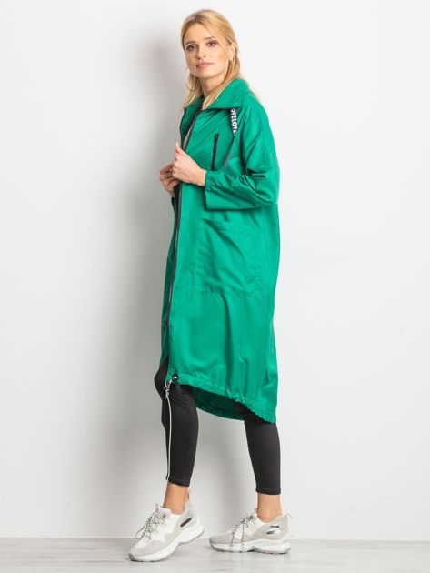 Zielony płaszcz Flatscreen                              zdj.                              3