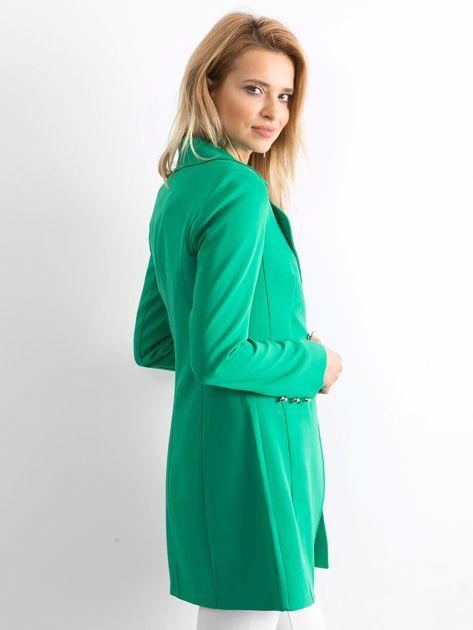 Zielony płaszcz Secret                              zdj.                              3