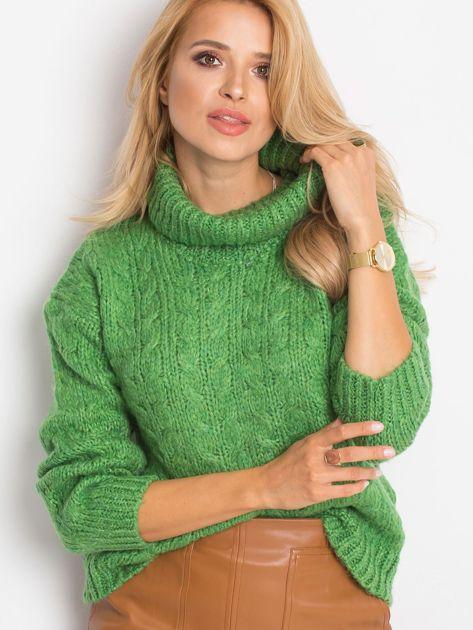 Zielony sweter Heavenly                              zdj.                              6