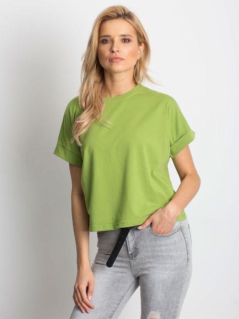 Zielony t-shirt Woodland                              zdj.                              1