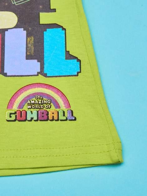 Zielony t-shirt chłopięcy GUMBALL                                  zdj.                                  5