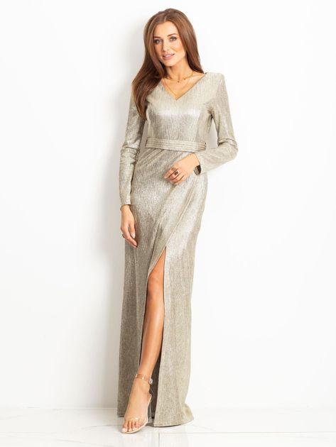 Złota sukienka Wish                              zdj.                              4