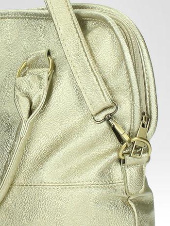 Złota torba miejska na ramię                                  zdj.                                  9